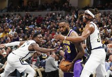 "NBA: ""Pacers"" – ""Lakers"""
