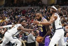"""NBA: """"Pacers"""" – """"Lakers"""""""