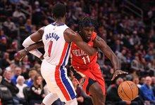 """NBA: """"Pistons"""" – """"Pelicans"""""""