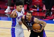 "NBA: ""76ers"" – ""Pistons"""
