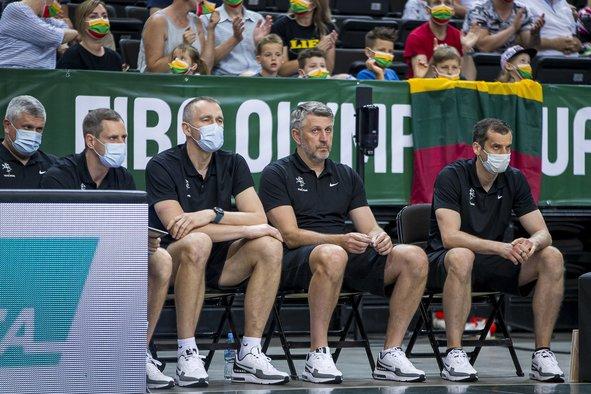 Trenerių štabas