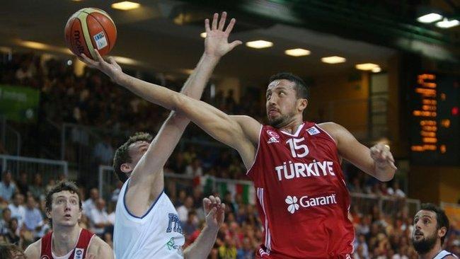 Europos čempionatas Slovėnijoje H.Turkoglu buvo paskutinis (Scanpix nuotr.)