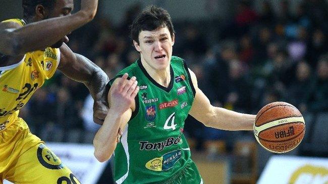 Ž.Janavičius buvo rezultatyviausias Prienų komandos žaidėjas (Fotodiena.lt)