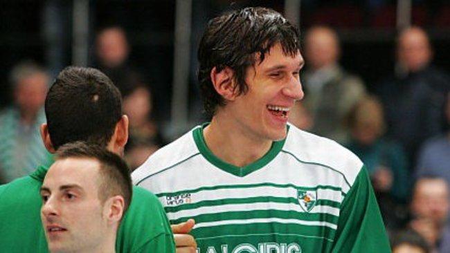 """B.Marjanovičius prieš dvejus metus vilkėjo """"Žalgirio"""" aprangą (""""Krepšinio širdies"""" nuotr.)"""