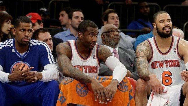 """""""Knicks"""" priekinė linija pastaruoju metu – gerokai išretėjusi (Scanpix)"""
