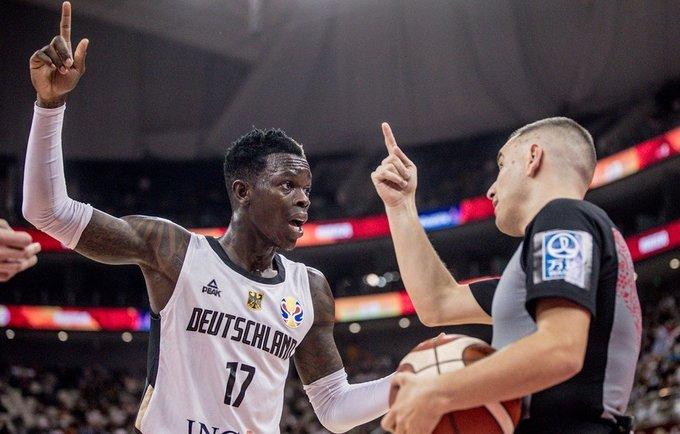 D.Schroderis buvo šalia trigubo dublio (FIBA nuotr.)