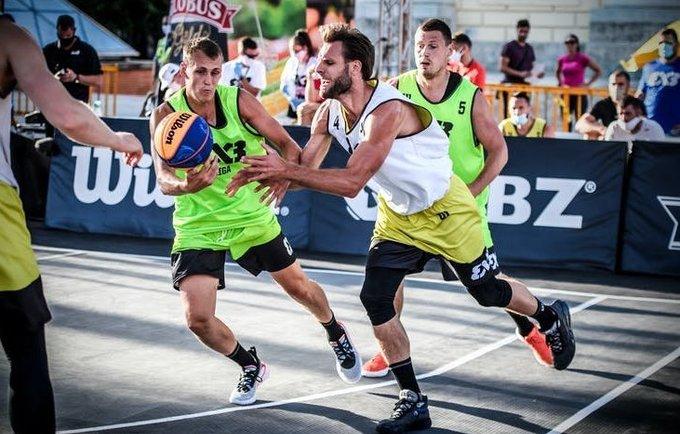 D.Tarvydas įtrauktas į 3x3 Lietuvos rinktinę (FIBA nuotr.)