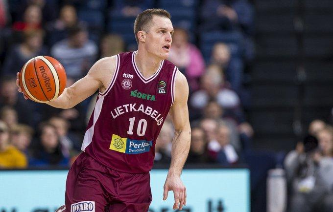 V.Lipkevičius šį sezoną tritaškius meta itin tiksliai (BNS nuotr.)