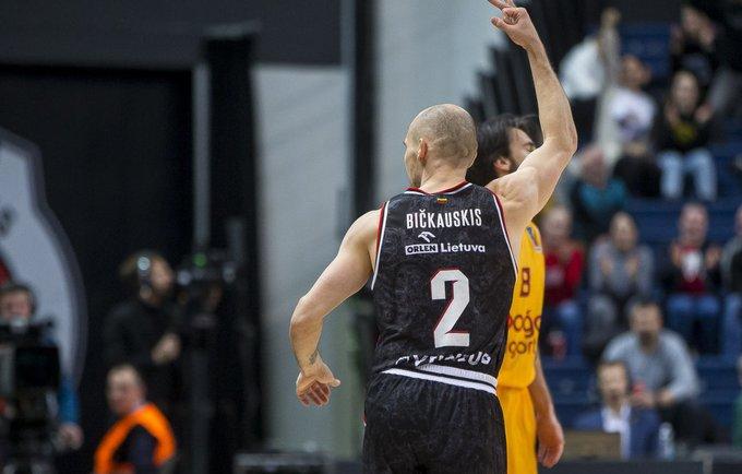 D.Bičkauskis sužaidė geriausią sezono mačą (BNS nuotr.)