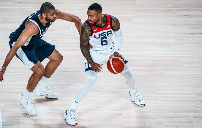 D.Lillardas olimpiadoje rinko po 11,2 taško (FIBA nuotr.)