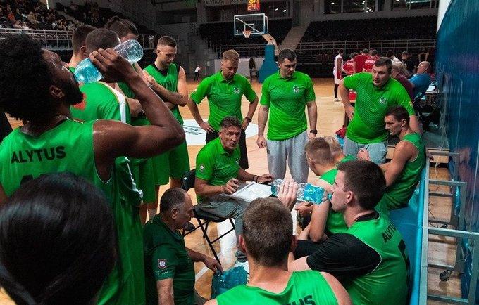 Alytaus klubas įveikė oponentus iš Baltarusijos (Klubo nuotr.)