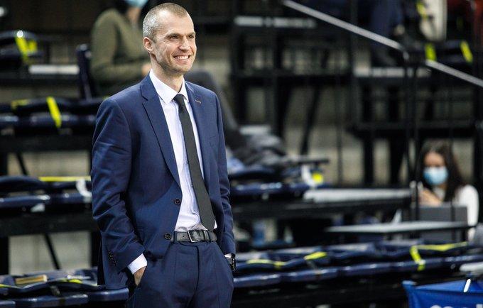 M.Kiltinavičius pasidalino savo krepšinio filosofija (BNS nuotr.)