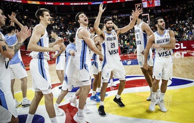Argentina pasiekė fantastinę pergalę (FIBA nuotr.)