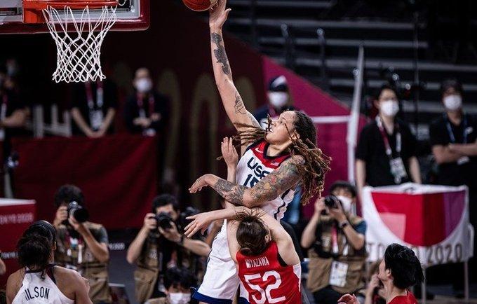 B.Grinner karaliavo baudos aikštelėje (FIBA nuotr.)