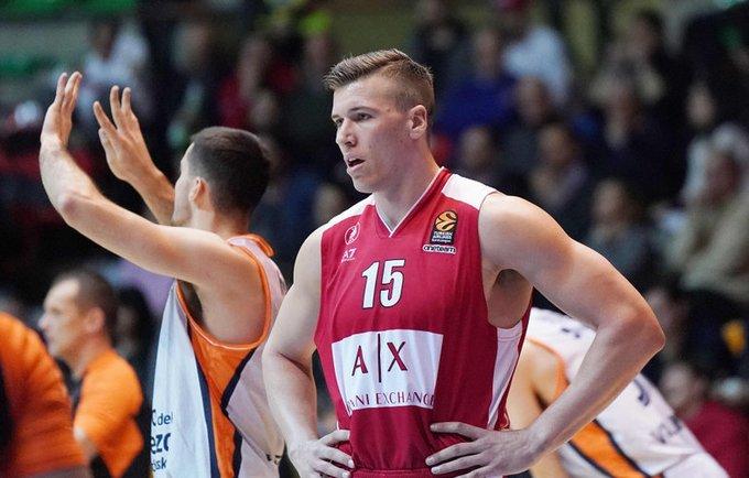 K.Tarčewskis Milano ekipoje buvo rezultatyviausias (Scanpix nuotr.)
