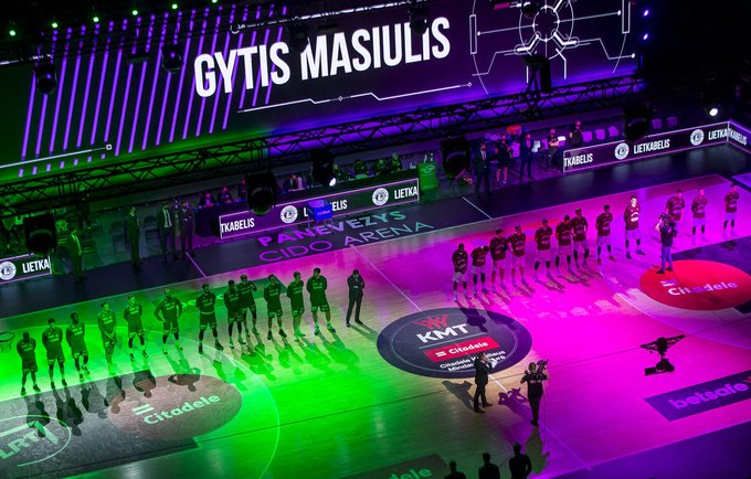 KMT finalo ketvertas vyko Panevėžyje (BNS nuotr.)