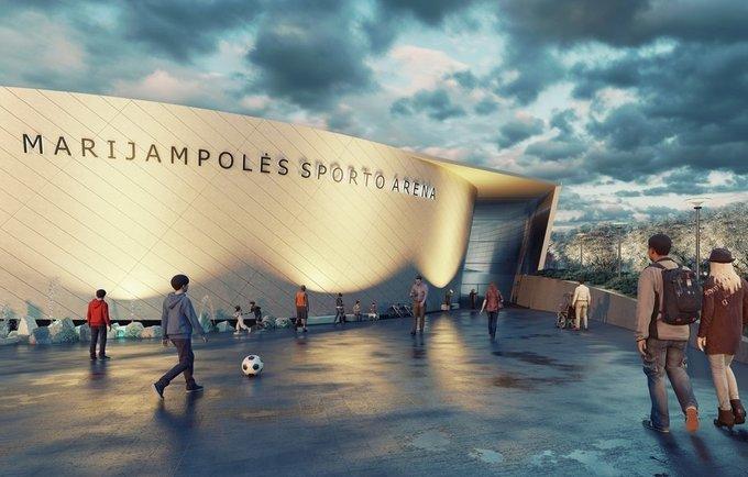 Marijampolės arenos projekto konkurse liko trys finalininkai