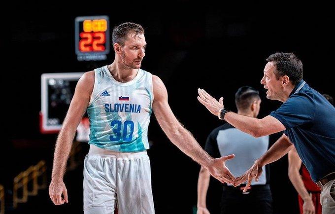 Z.Dragičius vedė slovėnus į pergalę (FIBA nuotr.)