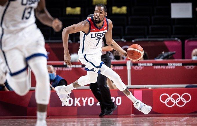 K.Durantas sužinojo varžovą ketvirtfinalyje (FIBA nuotr.)