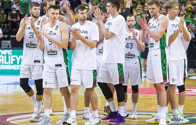 Lietuvos rinktinė FIBA reitinge smuko per vieną poziciją (BNS nuotr.)