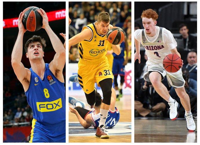 Ne vienas europietis demonstruoja NBA vertą žaidimą (Scanpix nuotr.)