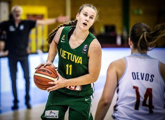 G.Šegždaitė pelnė 14 taškų (FIBA Europe nuotr.)