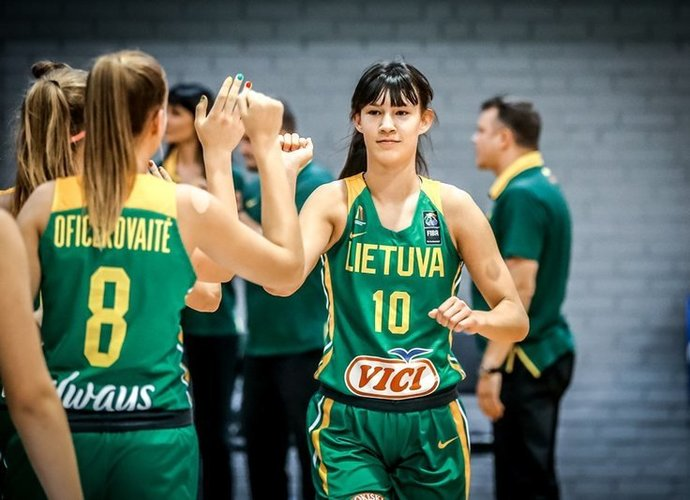 U.Čižauskaitė atstovaus rinktinei (FIBA Europe nuotr.)