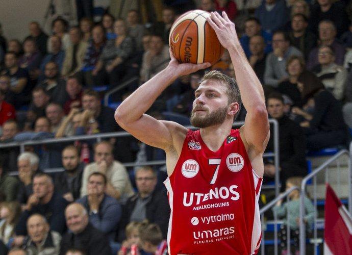 G.Radzevičius žaidžia solidų antrą sezoną Utenoje (BNS nuotr.)