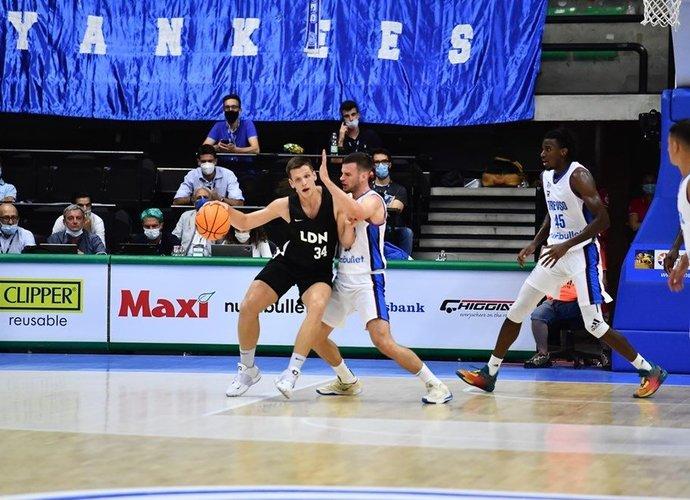 A.Majauskas žais Londono klube (FIBA nuotr.)