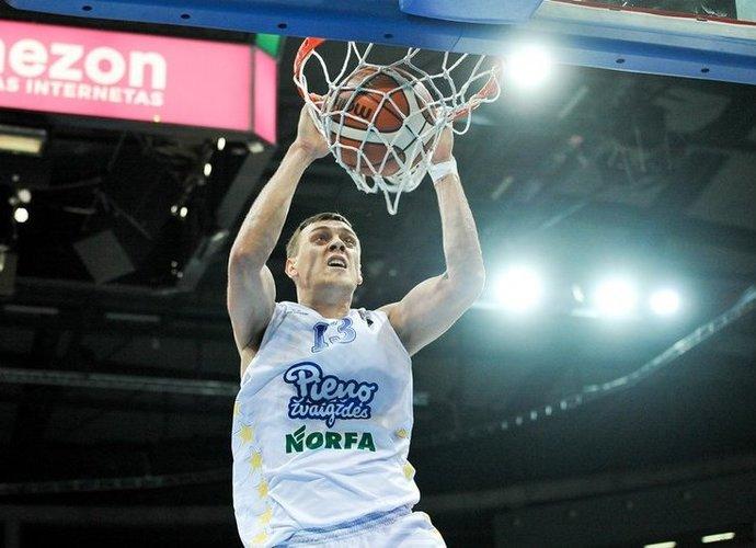 Pasvalio komanda patyrė pirmą sezono pralaimėjimą BBL (Josvydas Elinskas, Fotodiena.lt)