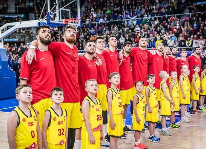 Šiaurės Makedonijos rinktinėje užfiksuoti COVID-19 atvejai (FIBA Europe nuotr.)