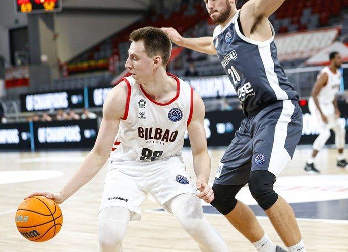 A.Kulboka buvo rezultatyviausias Bilbao ekipoje (FIBA Europe nuotr.)