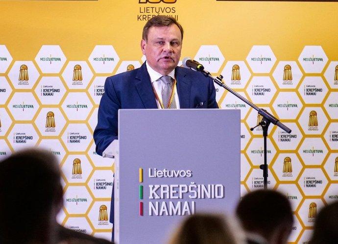 V.Gedvilas tapo LKF prezidentu