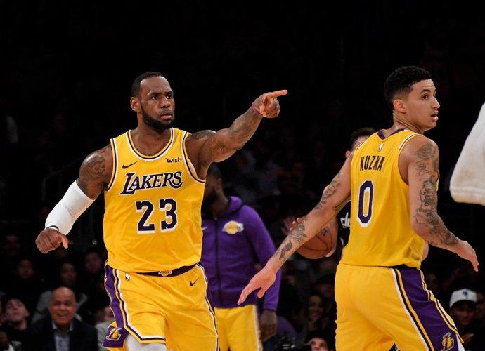 L.Jamesas atidarys NBA sezoną (Scanpix nuotr.)