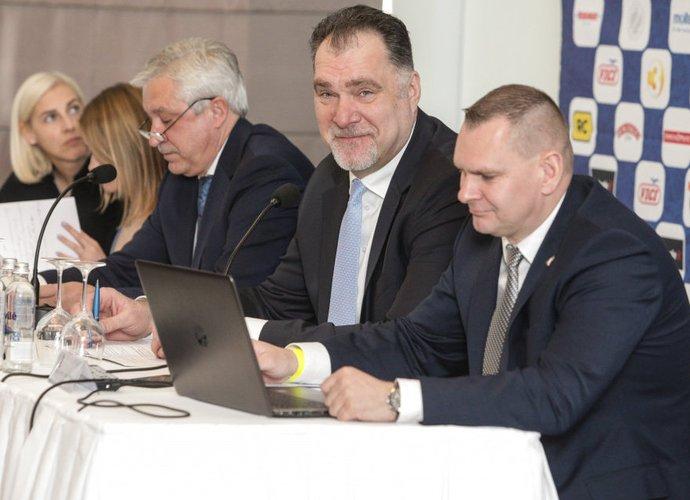 A.Sabonis sakė, kad federacija pasitiki D.Adomaičiu (BNS nuotr.)