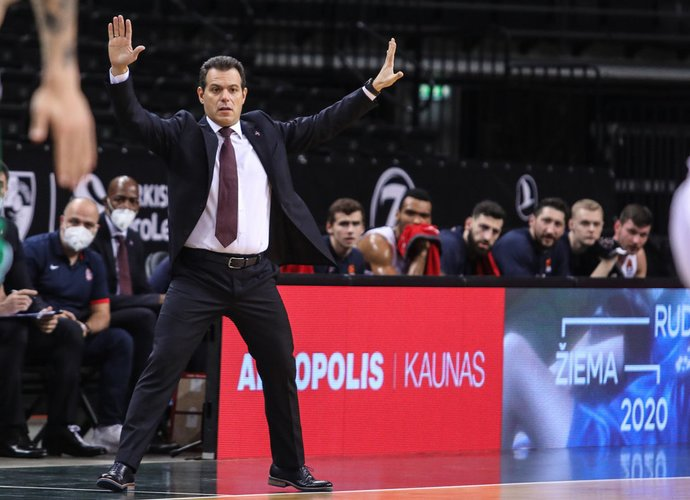 D.Itoudis užsiminė apie situaciją su CSKA (BNS nuotr.)