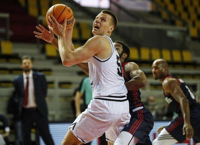A.Butkevičius negalės žaisti (FIBA Europe nuotr.)