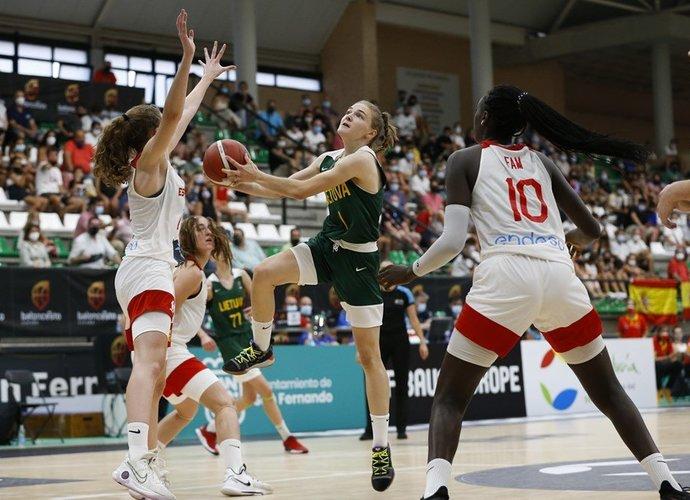 S.Aukštikalnytė buvo rezultatyviausia (FIBA nuotr.)