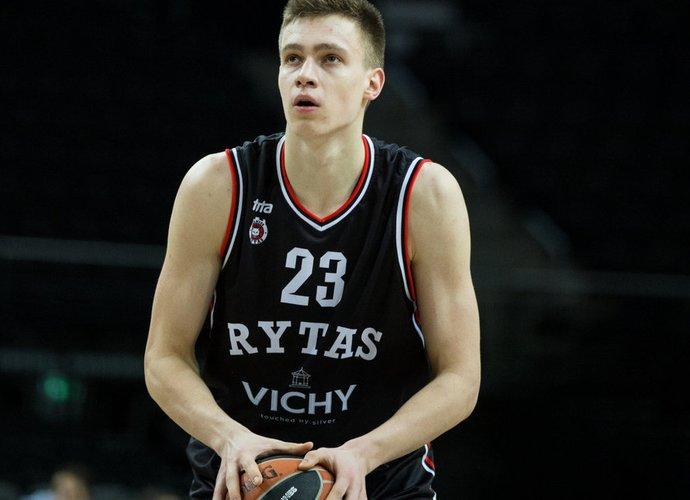 M.Blaževičius pelnė 12 taškų (BNS nuotr.)