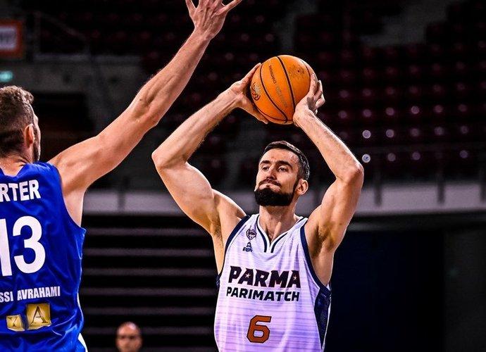 E.Žukauskas vedė komandą į priekį (FIBA nuotr.)