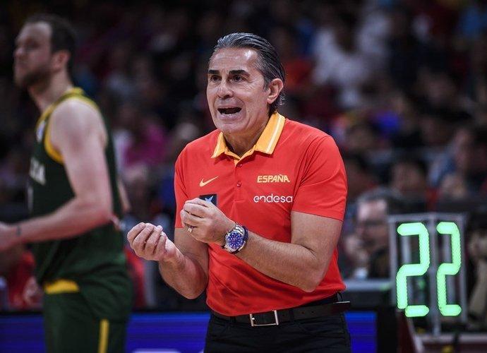 S.Scariolo lieka prie nacionalinės komandos vairo iki pat 2024 metų (FIBA nuotr.)