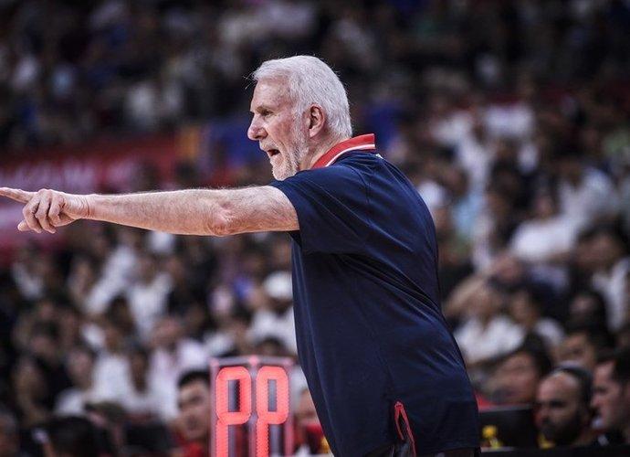 G.Popovičius didžiavosi savo komanda (FIBA nuotr.)
