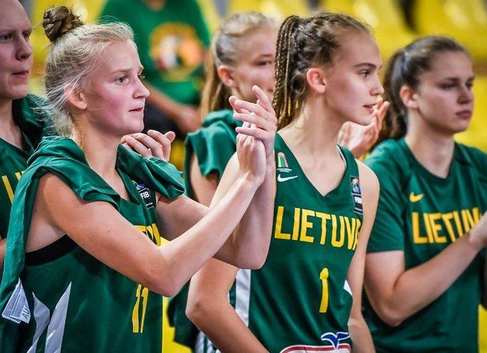 Grupės varžybose lietuvės iškovojo dvi pergales (FIBA Europe nuotr.)