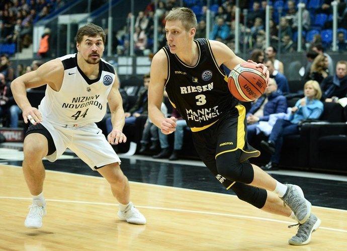 D.Sabeckis surengė naudingą pasirodymą (FIBA nuotr.)