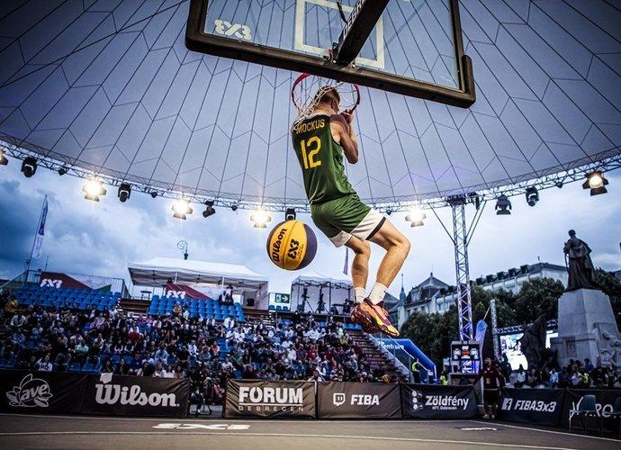 M.Mockus dėjimų konkurse liko antras (FIBA nuotr.)