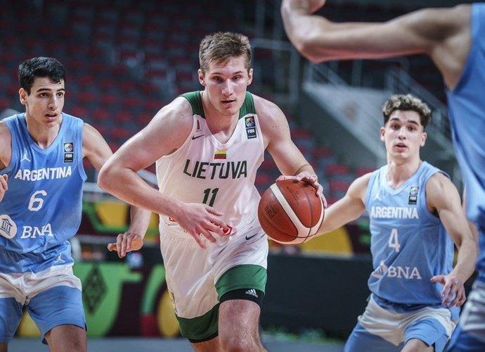 Lietuviai pademonstravo puikų puolimą (FIBA nuotr.)