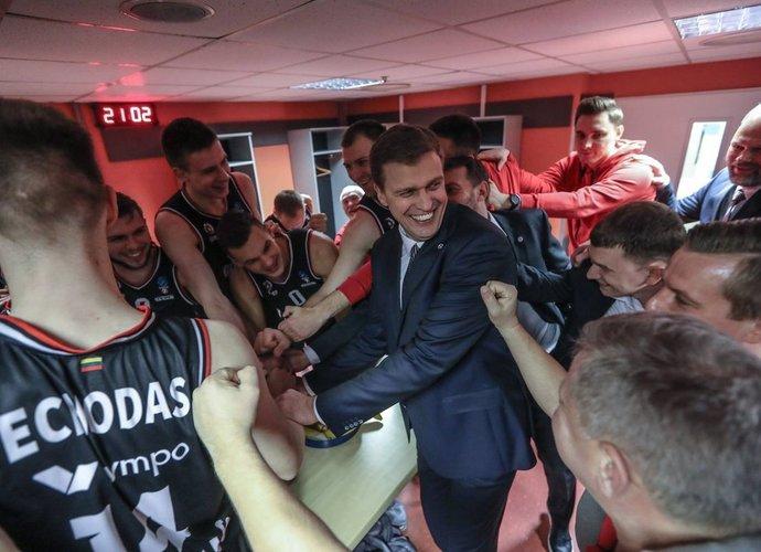 """""""Rytas"""" Europos taurėje nužygiavo iki ketvirtfinalio etapo (Foto: Ray Vyšniauskas)"""