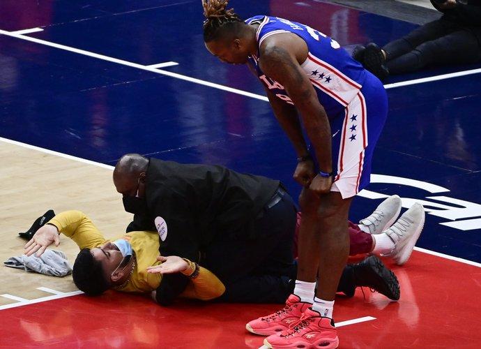 Mačas buvo sustabdytas dėl nemalonaus incidento (Scanpix nuotr.)