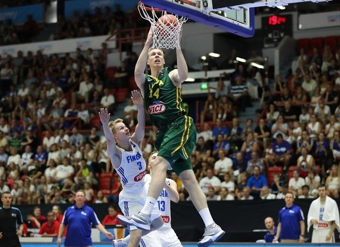 M.Echodas spindėjo (FIBA Europe nuotr.)