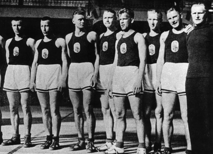 Latvijos rinktinė – pirmoji Europos čempionė
